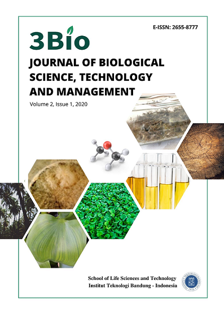 3Bio: Journal of Biological Sciences, Technology and Management