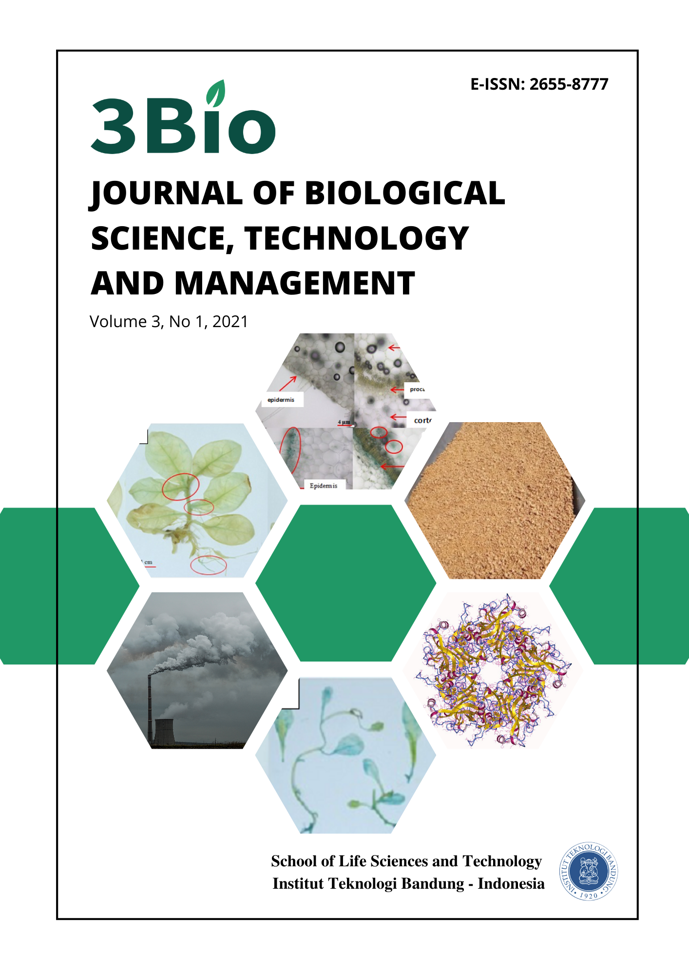 3Bio Journal of Biological Science, Technology And Management Vol. 3 No. 1, 2021